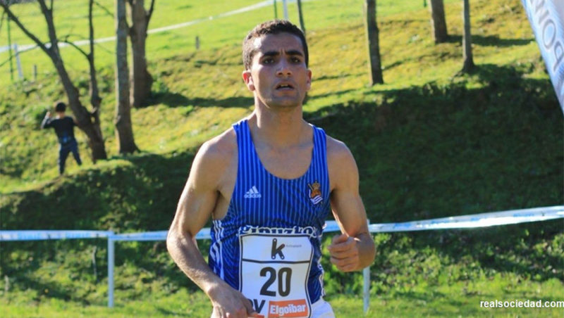 Hassan Oubaddi, // Foto: Real Sociedad