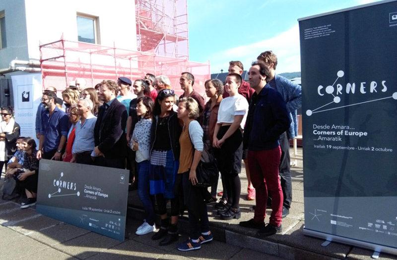 Artistas y miembros de 2016 en la presentación de 'Corners of Europe'. Foto: A.E.