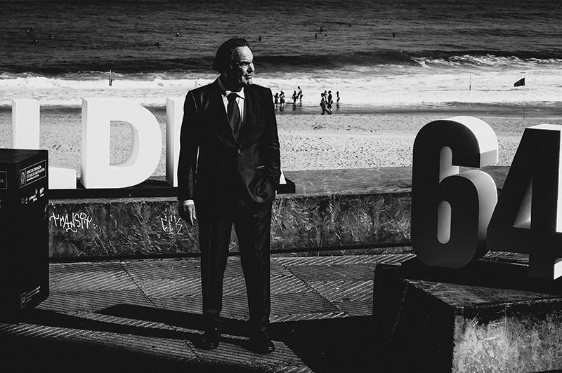 Oliver Stone. // Foto: Santiago Farizano