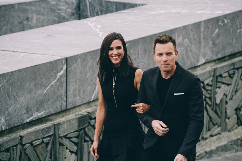 Ewan McGregor y Jennifer Connely. // Foto: Santiago Farizano