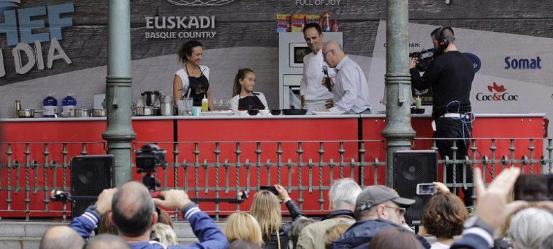 'Chef por un día' en el Boulevard. Foto: SnSn Gastronomika.