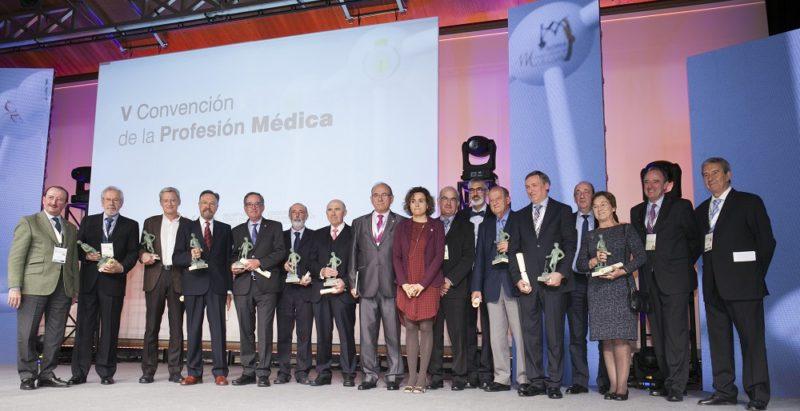 Todos los premiados. Foto: OMC.