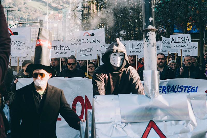 Manifestación del pasado diciembre. Foto: Santiago Farizano