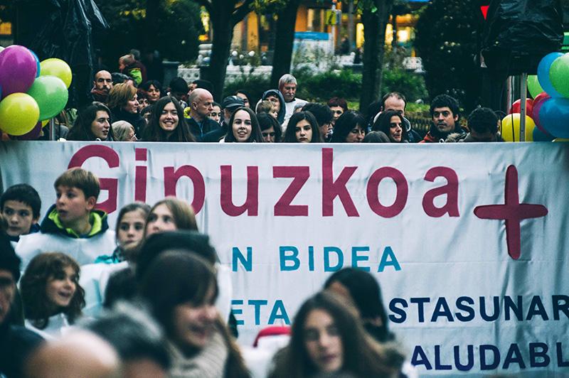 Una de las manifestaciones convocadas por GuraSOS. Foto: Santiago Farizano