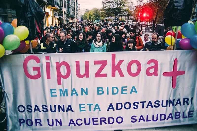 Una de las manifestaciones organizadas por GuraSOS. Foto: Santiago Farizano