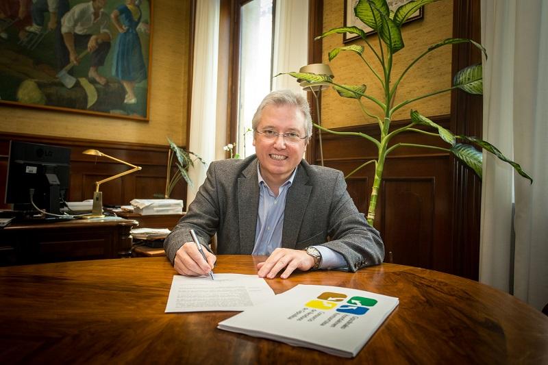 El diputado Asensio. Foto: Diputación