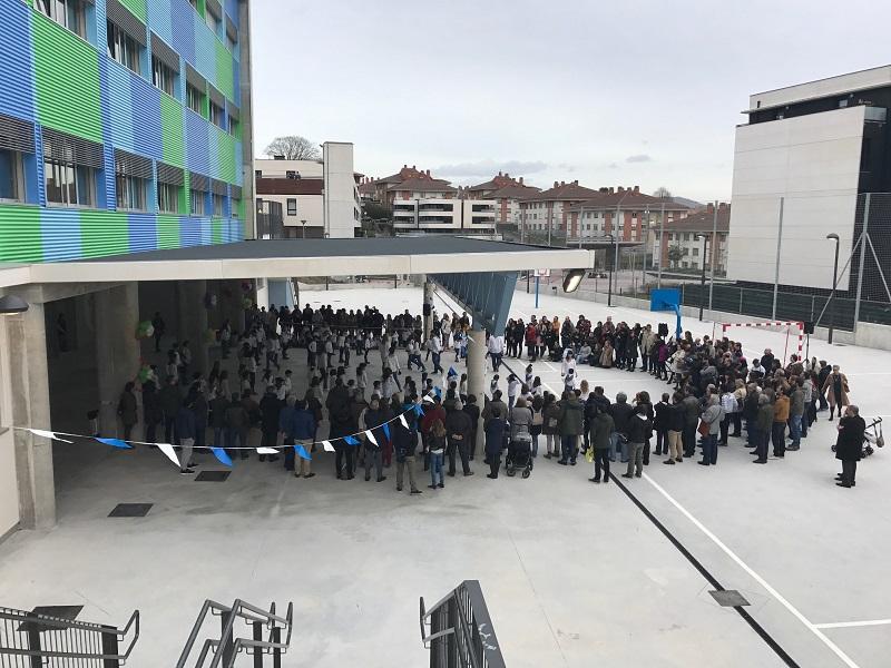 Colegio de Aiete. Foto: Ayto.