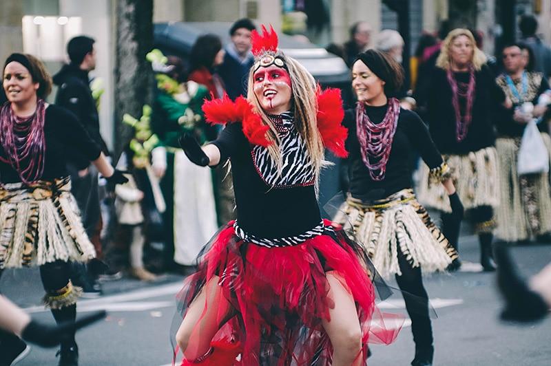 C arnaval en Donostia. Foto: Santiago Farizano