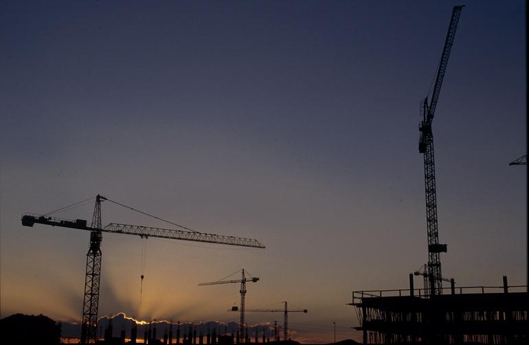 Viviendas en construcción. Foto: Gobierno vasco