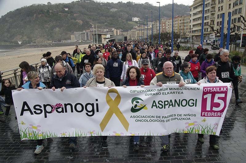 Marcha de Aspanogi en 2017. Foto: Santiago Farizano
