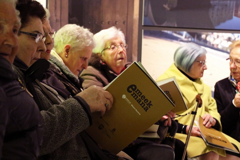Algunas de las protagonistas. Foto: Diputación
