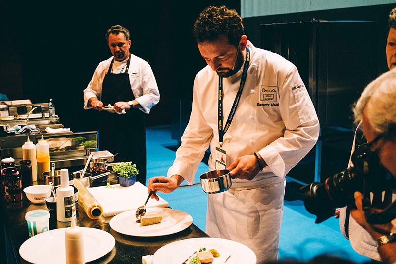 Imagen de San Sebastián Gastronomika de 2016. Foto: Santiago Farizano