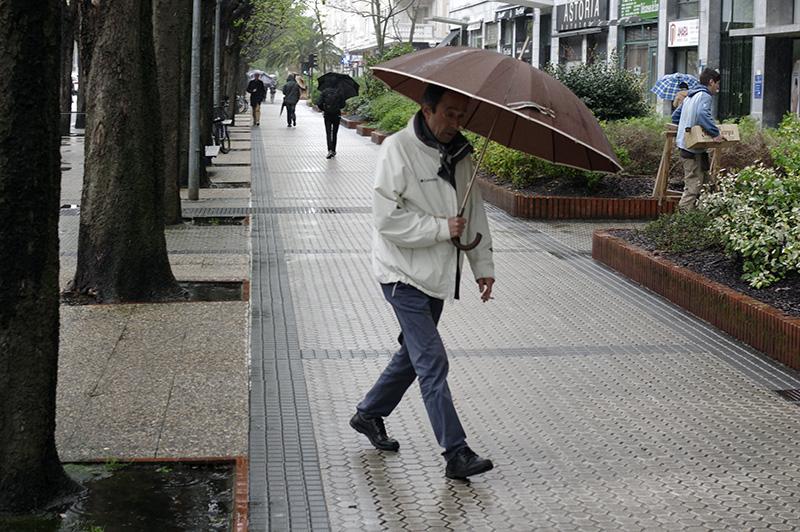La lluvia, constante desde inicios de año. Foto: Santiago Farizano