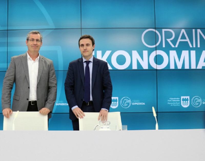 Olano y Larrañaga. Foto: Diputación