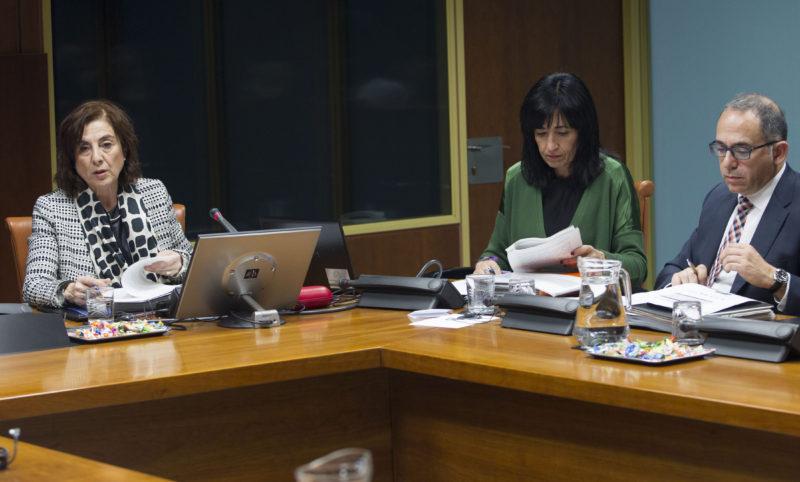 La consejera Cristina Uriarte. Foto: Gobierno vasco