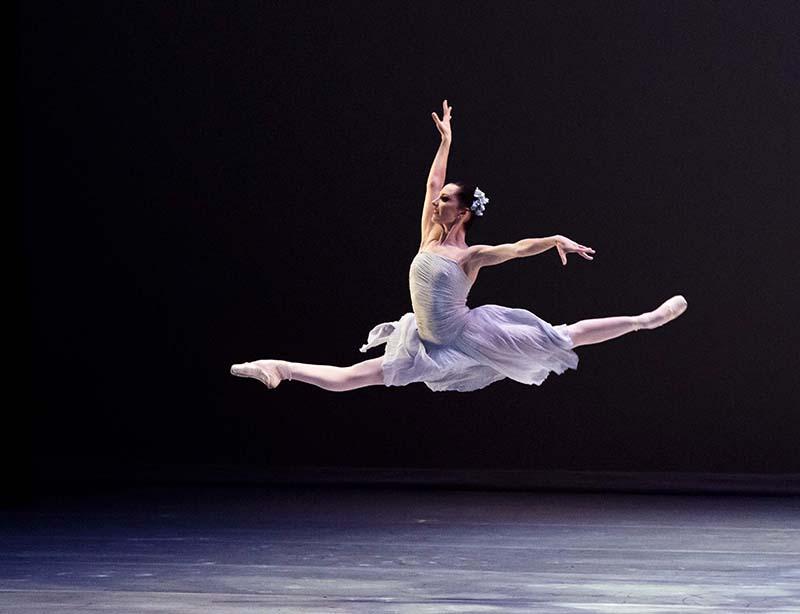 La bailarina donostiarra Iratxe Beorlegui. Foto: Carlos Quezada