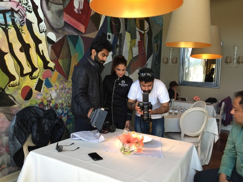 Periodistas indios en uan visita a Euskadi. Foto: Gobierno vasco