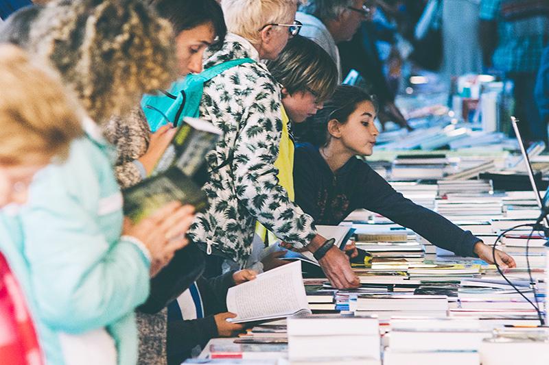 Feria del libro del pasado año. Foto: Santiago Farizano