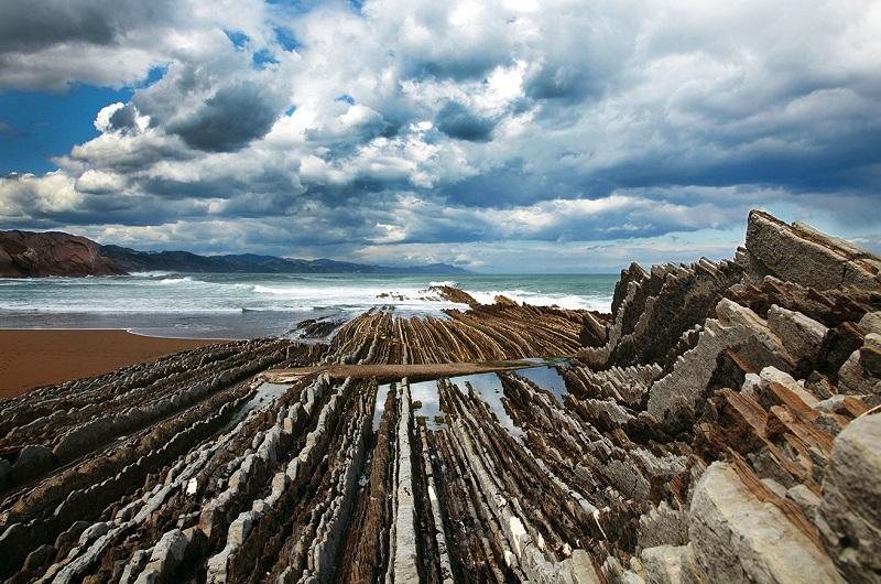 Flysch de Zumaia. Foto: turismoeuskadi.eus