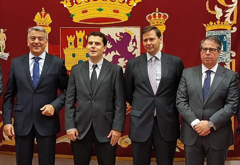 Alejandro Domínguez toma posesión como Jefe de la Dirección Provincial de Tráfico. Foto: Tráfico