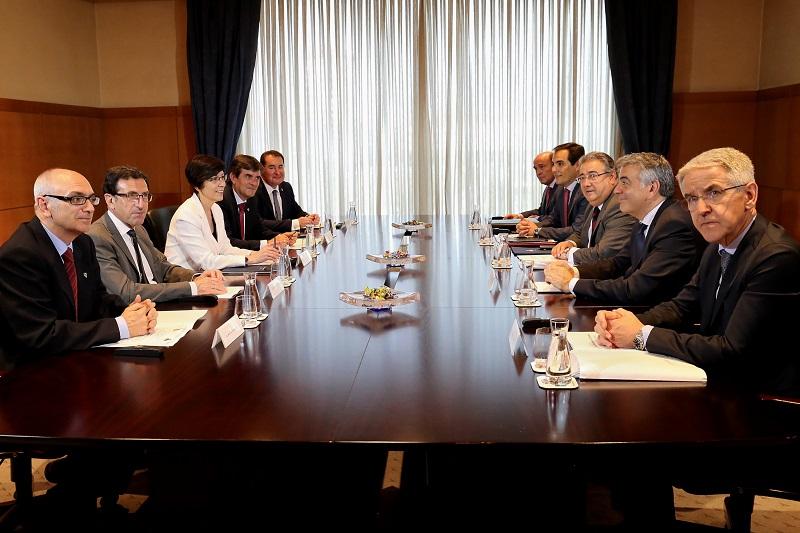 Junta de Seguridad. Foto: Gobierno vasco