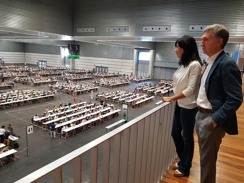 Imagen de una OPE anterior de Educación. Foto: Gobierno vasco