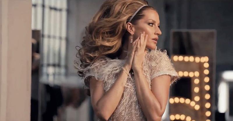 Gisele Bundchen, imagen del perfume Nº 5 de Chanel en 2014