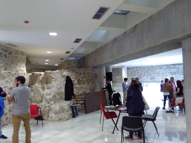 Instalaciones en el Convento Santa Teresa. Foto: A.E