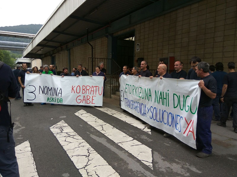 Protesta del pasado 2 de junio. Foto: LAB