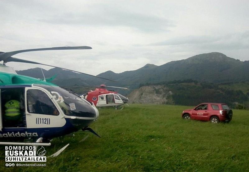 Foto: Bomberos Euskadi