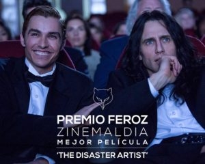 Premios Feroz 2 300x240 - Los informadores cinematográficos eligen a 'The disaster artist'