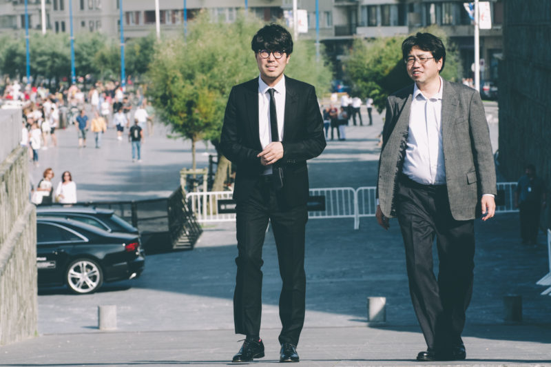 Genki Kawamura y Nobuyuki Takeuchi. Foto: Santiago Farizano