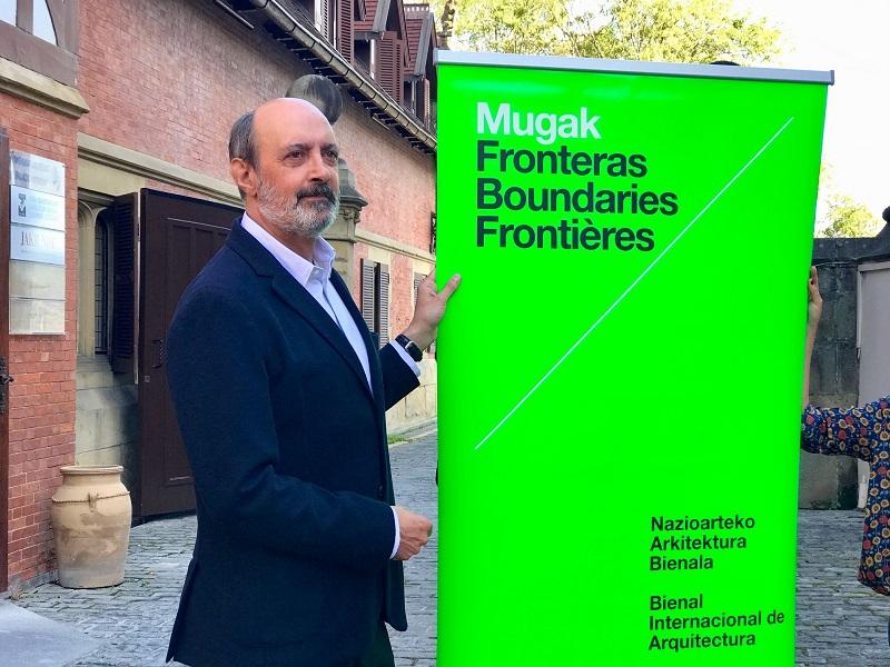 Pedro Astigarraga, comisario de MUGAK.