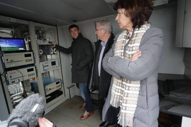 Los responsables de Medio Ambinete José Ignacio Asensio y Elena Moreno. Foto: Diputación