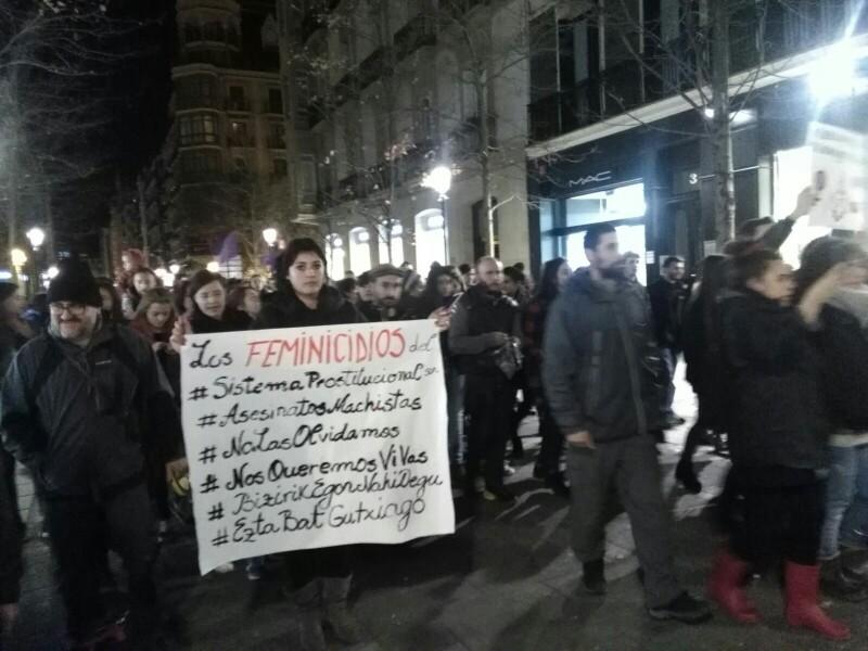 Manifestación del 25 de noviembre de 2017. Foto: A.E.