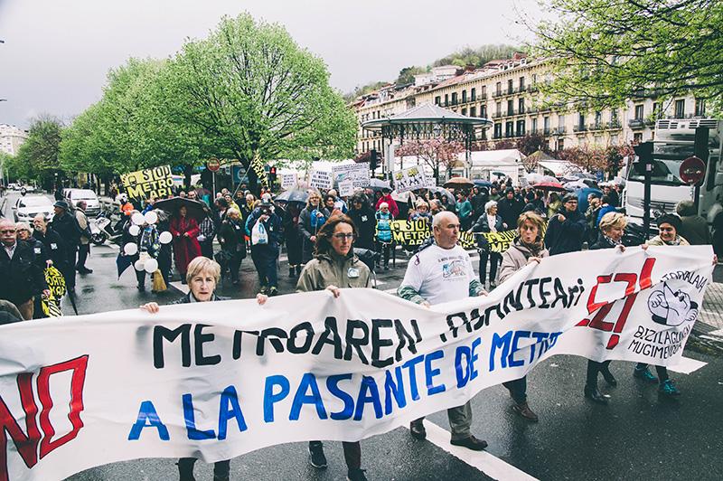 Una manifestación de Satorralaia. Foto: Santiago Farizano