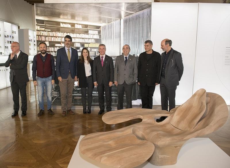 Inauguración en el Palacio Miramar de MUGAK. Foto: Gobierno vasco