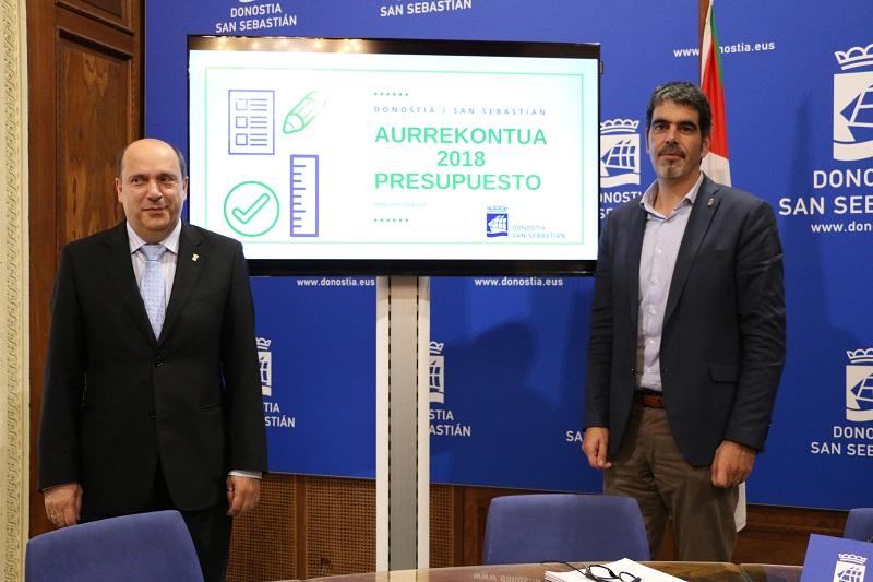 Goia y Domínguez Macaya presentan los presupuestos. Ayto
