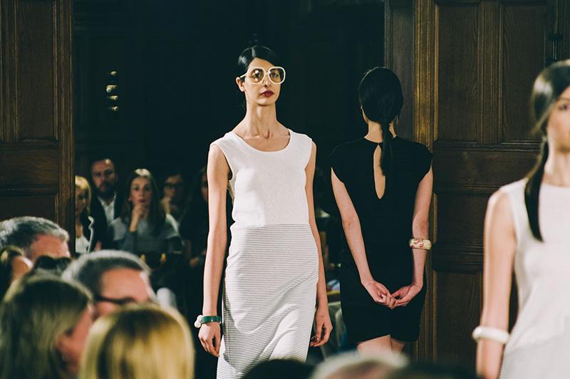 Desfile de Moda Sostenible en el Palacio Miramar en 2016. Foto: Santiago Farizano