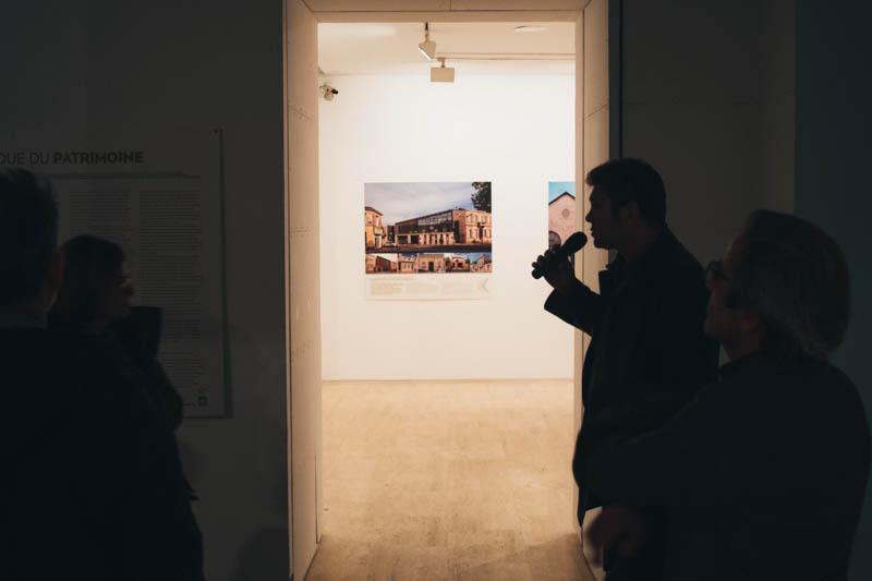 Imagen de una de las exposiciones en Koldo Mitxelena. Foto: Santiago Farizano