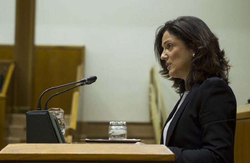Beatriz Artolazabal. Foto: Gobierno vasco