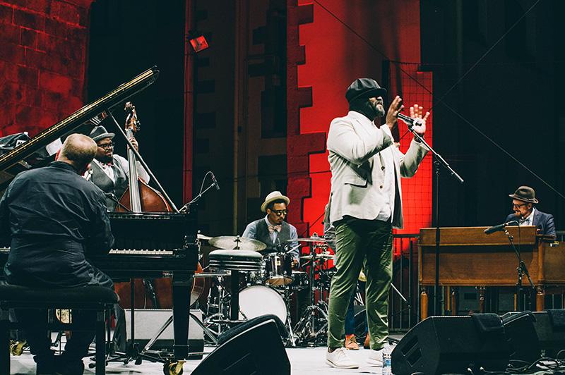 Gregory Porter en el pasado Jazzaldia. Foto: Santiago Farizano