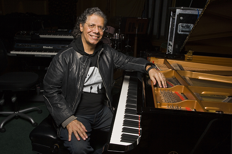 El pianista Chick Corea. Foto: Lynne Goldsmith