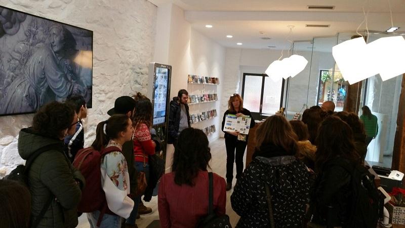 Oficina de Explore San Sebastián Region. Foto: Diputación