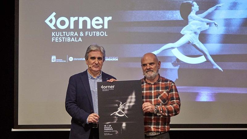 Jon Aizpurua, director de Donostia Kulturako Kultur Ekintza, y Andoni Iraola, director de Real Sociedad Fundazioa. Foto: Real Sociedad