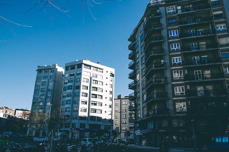 Barrio de Amara Berri, el más poblado de Donostia. Foto: Santiago Farizano