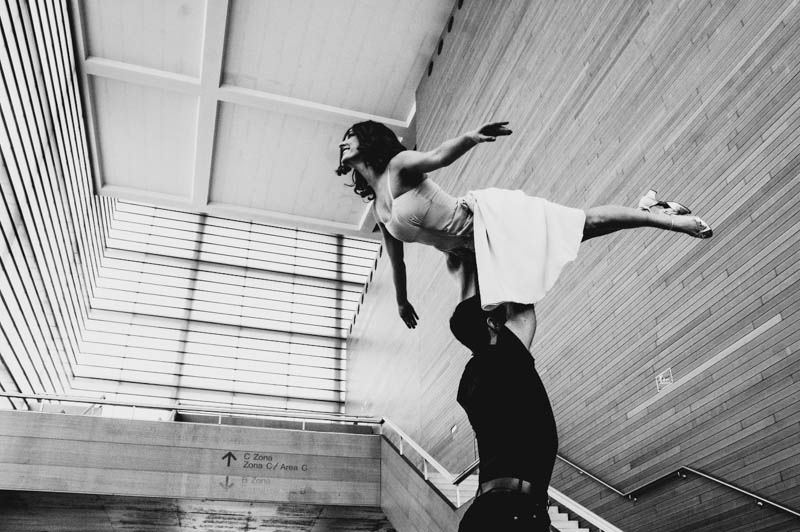 Ensayo del musical Dirty Dancing. Foto: Santiago Farizano