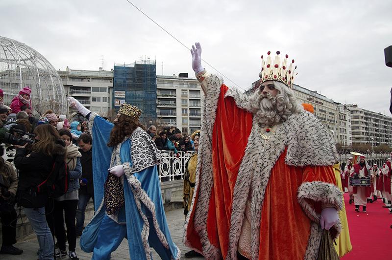 El Día de Reyes no puede faltar en este calendario. Foto: Santiago Farizano