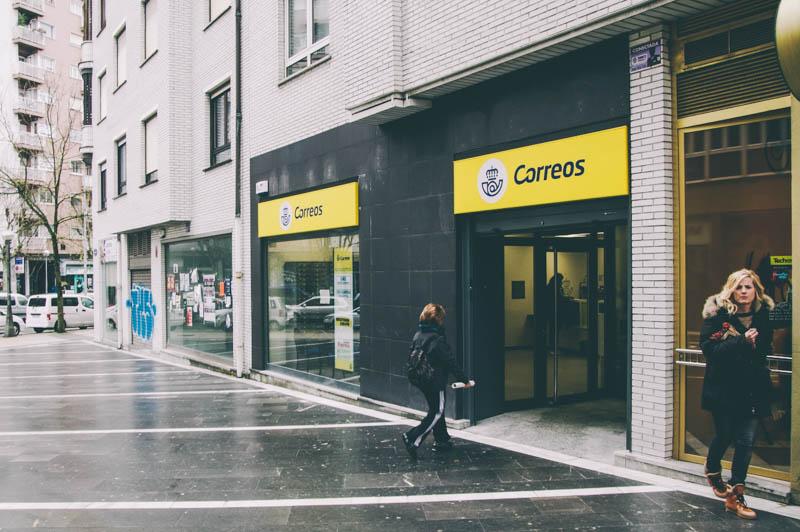 Oficina de Correos en Amara Berri. Foto: Santiago Farizano