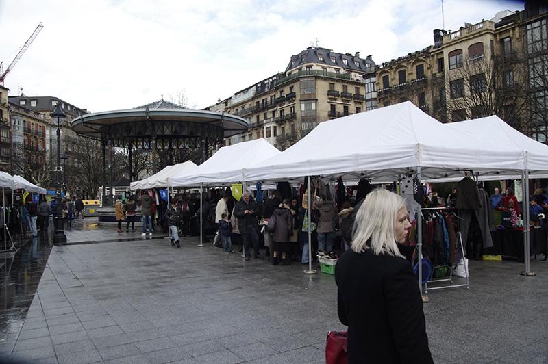 DonostiaTruk en la plaza Easo. Foto: Santiago Farizano